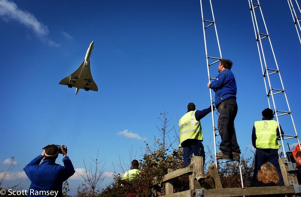 Concorde Last Flight Cardiff Airport