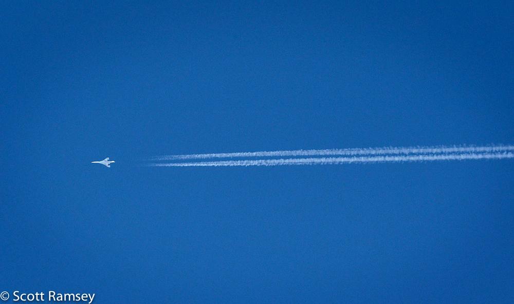 Concorde Last Flight Cardiff