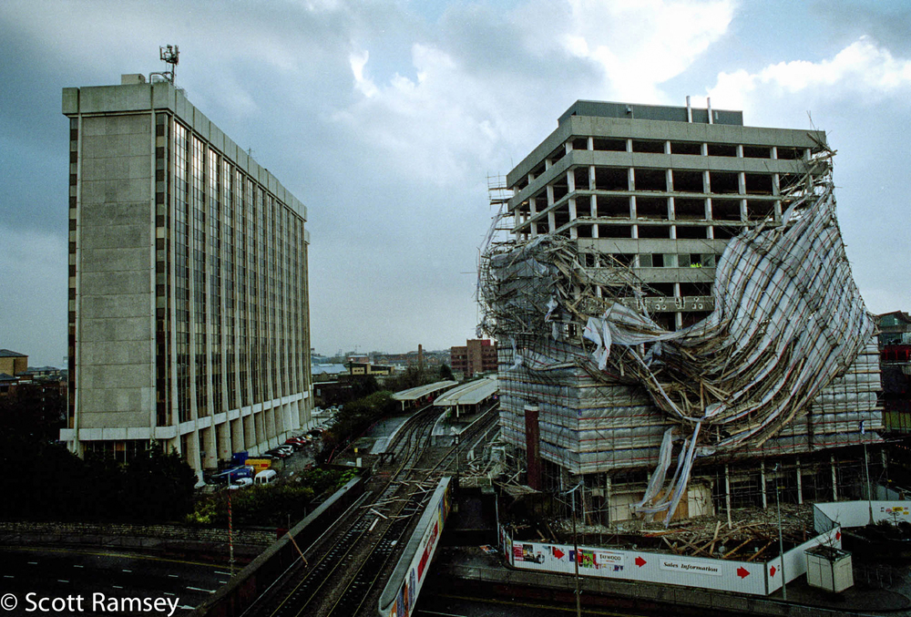 High Wind Building Damage Cardiff