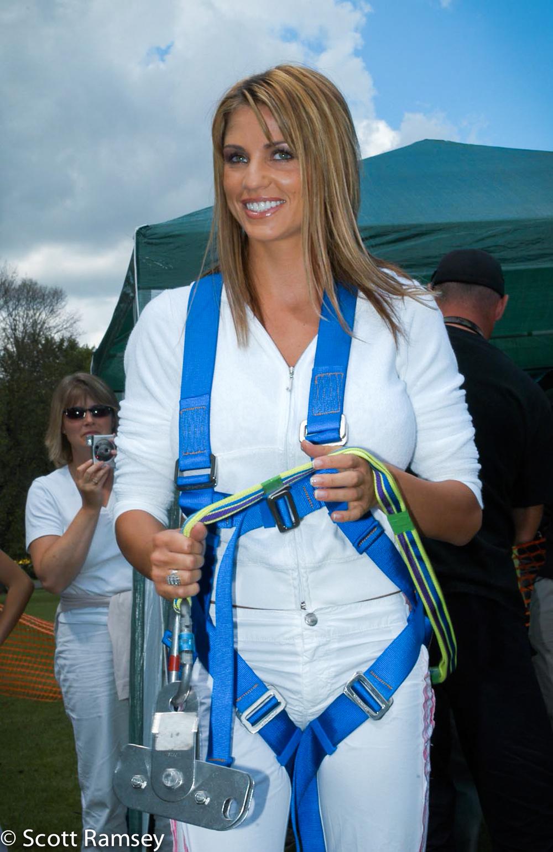 Katie Price Charity Zipwire Brighton 2