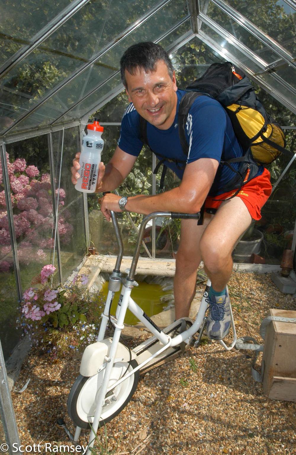 Marathon Training In Greenhouse