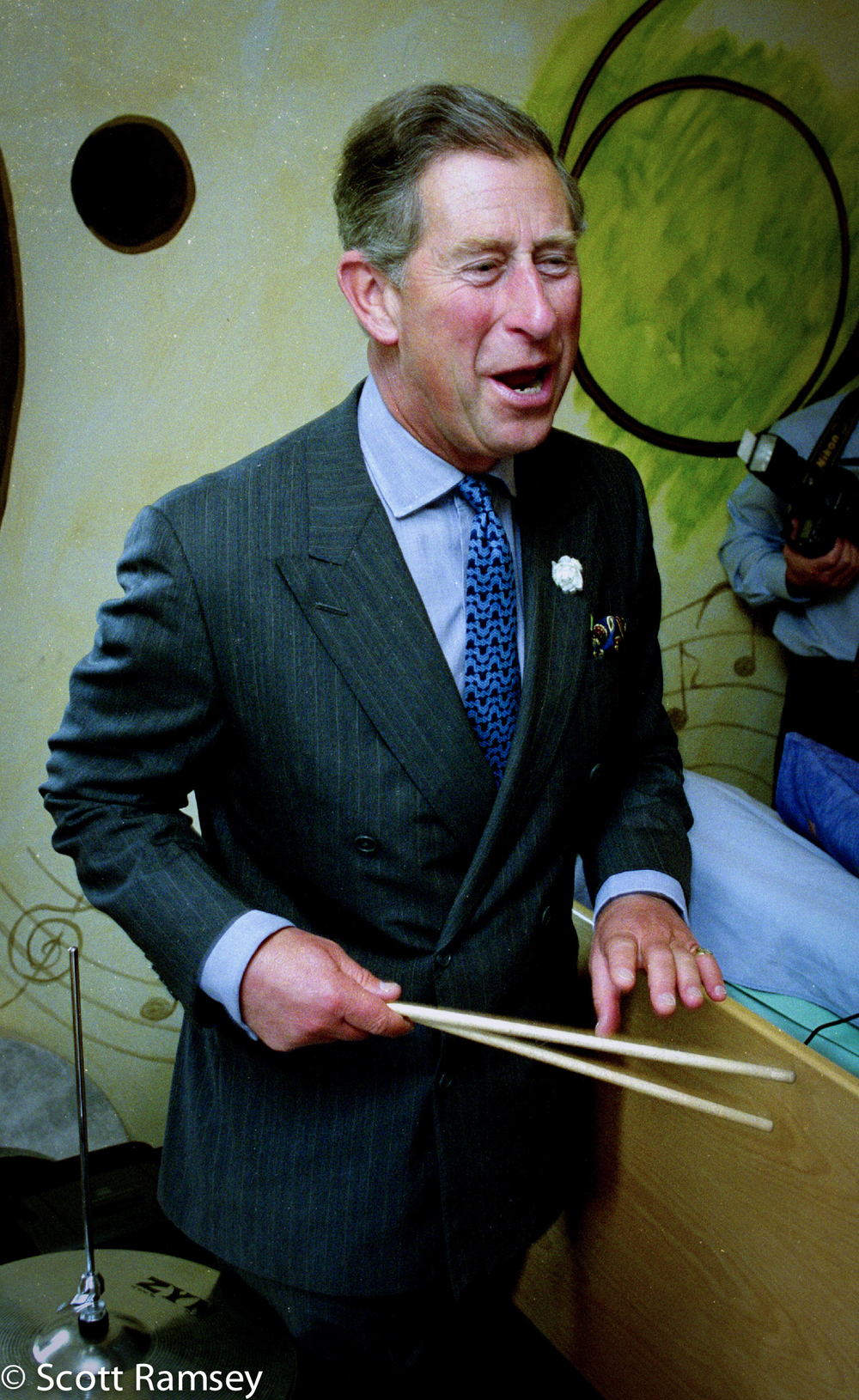 Prince Charles Hand Painted