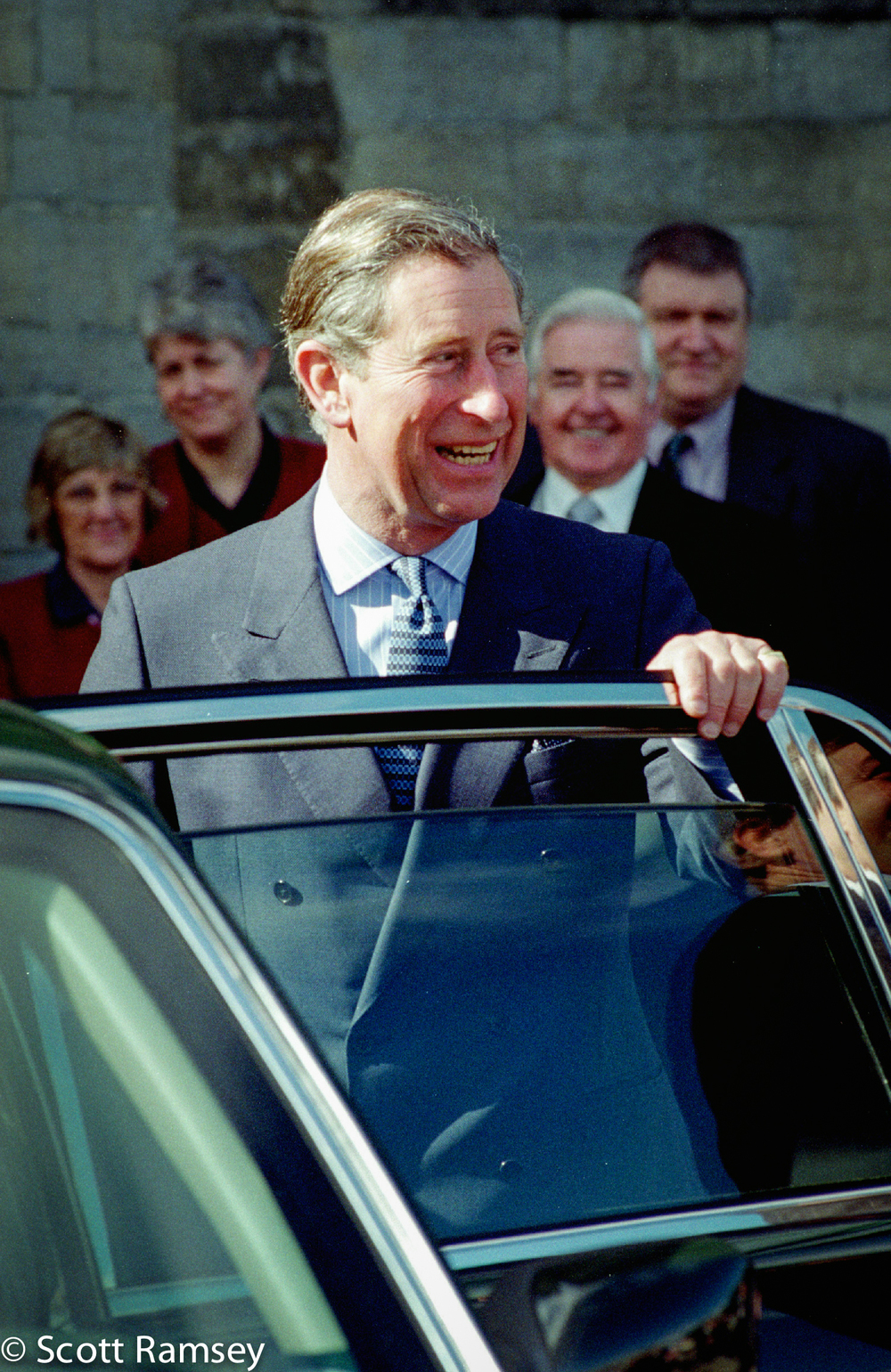 Prince Charles At Cardiff Castle