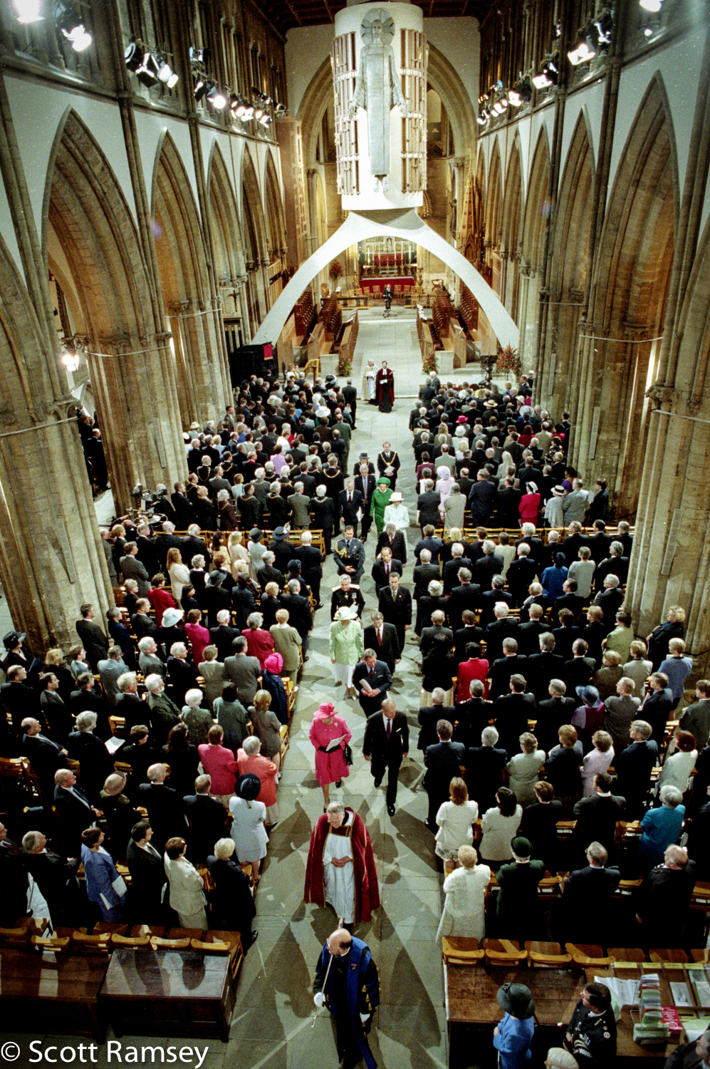 Queen Llandaff Cathedral Wales