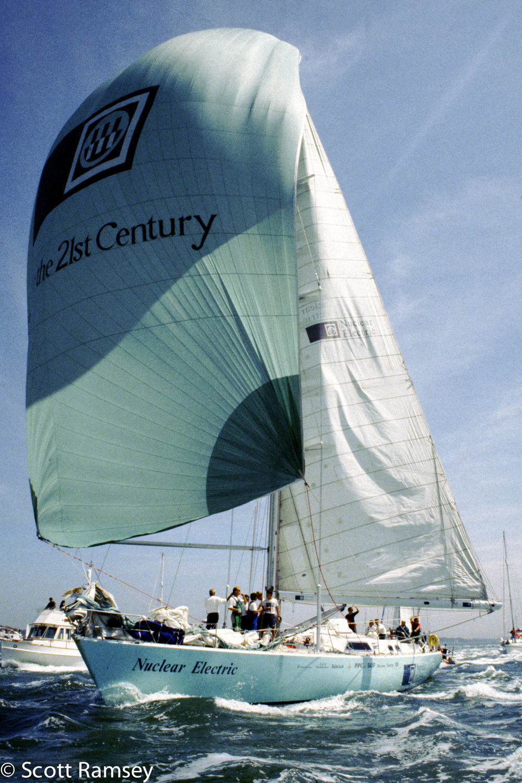 Sailing Solent
