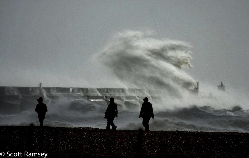 Storm Brighton Marina