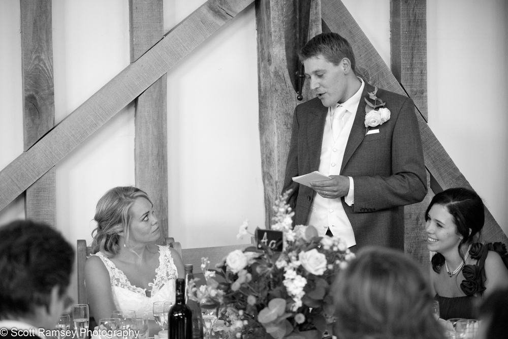 Gate Street Barn Grooms Speech
