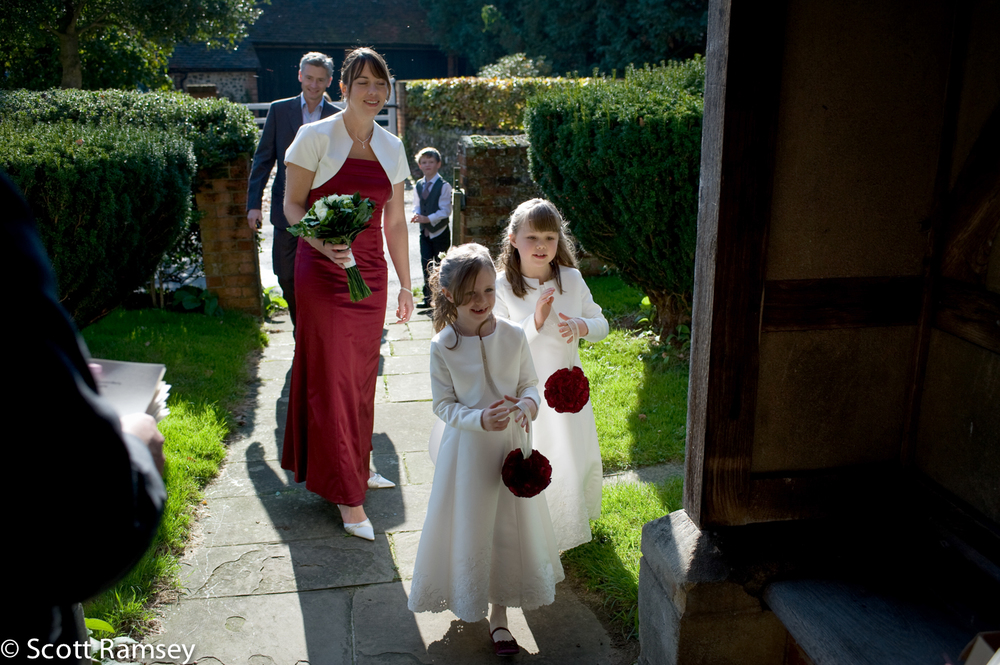 Wedding At St Thomas Church Surrey