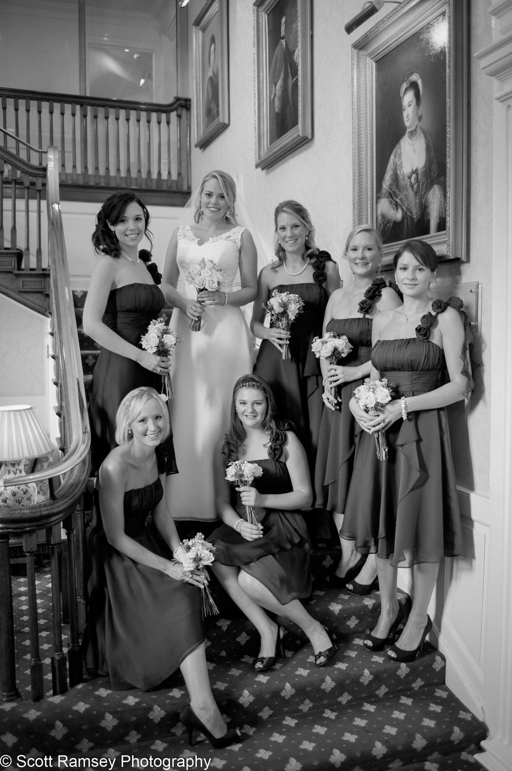 Bride Bridesmaid Flower Girls