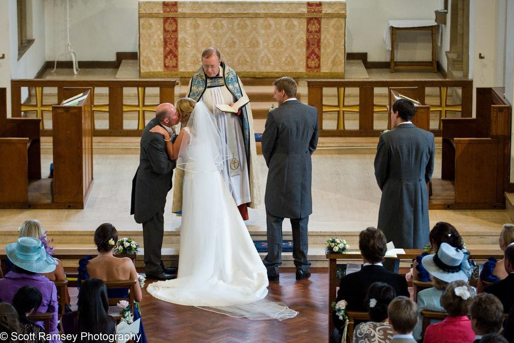 All Saints Church Wedding Esher