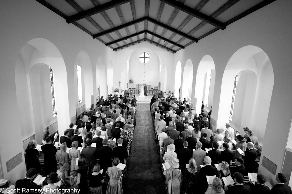 All Saints Church Esher Wedding