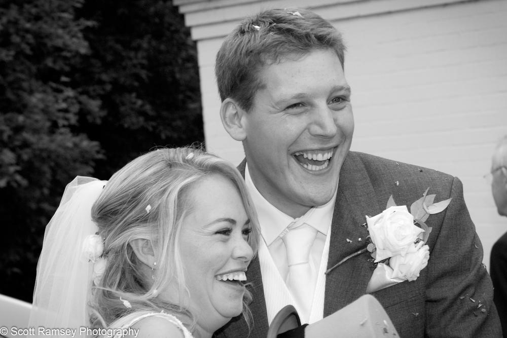 Esher WEdding Bride And Groom