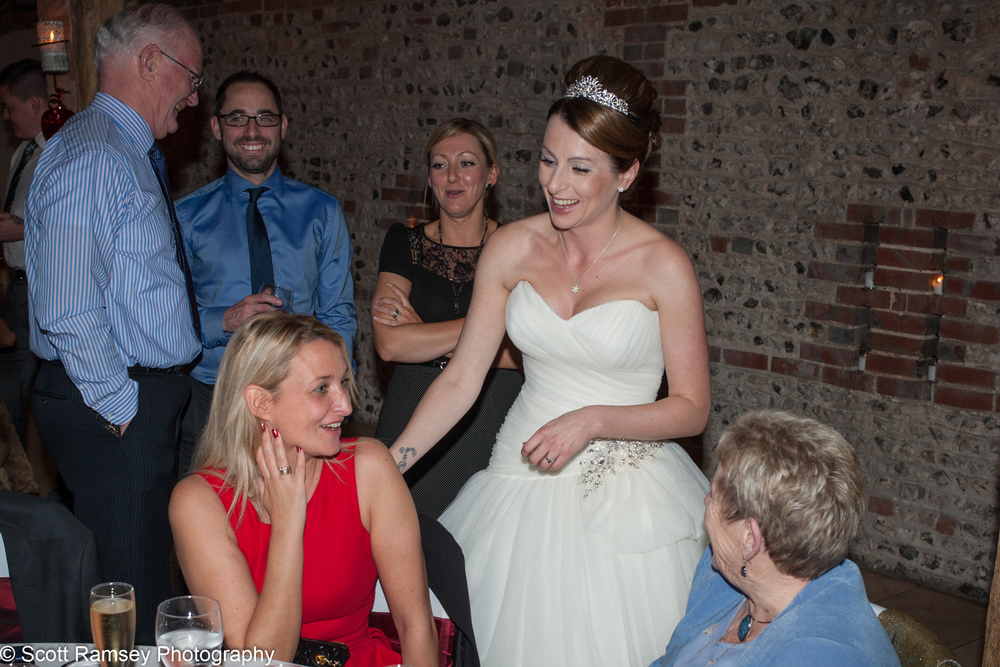 Upwaltham Barns Wedding Bride And Guests 15121237