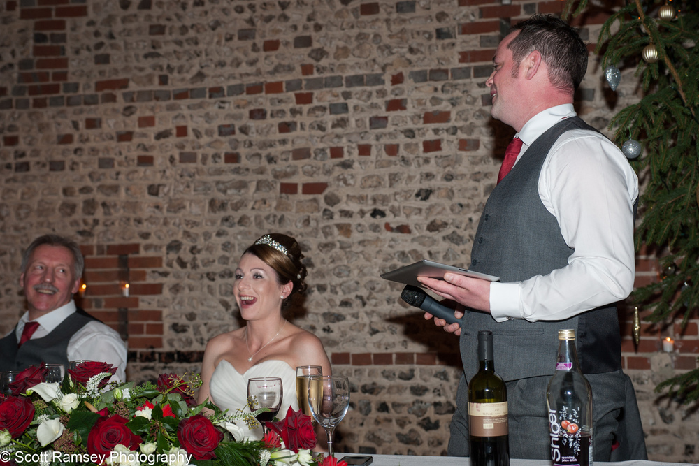 Upwaltham Barns Wedding Groom Speech 15121243