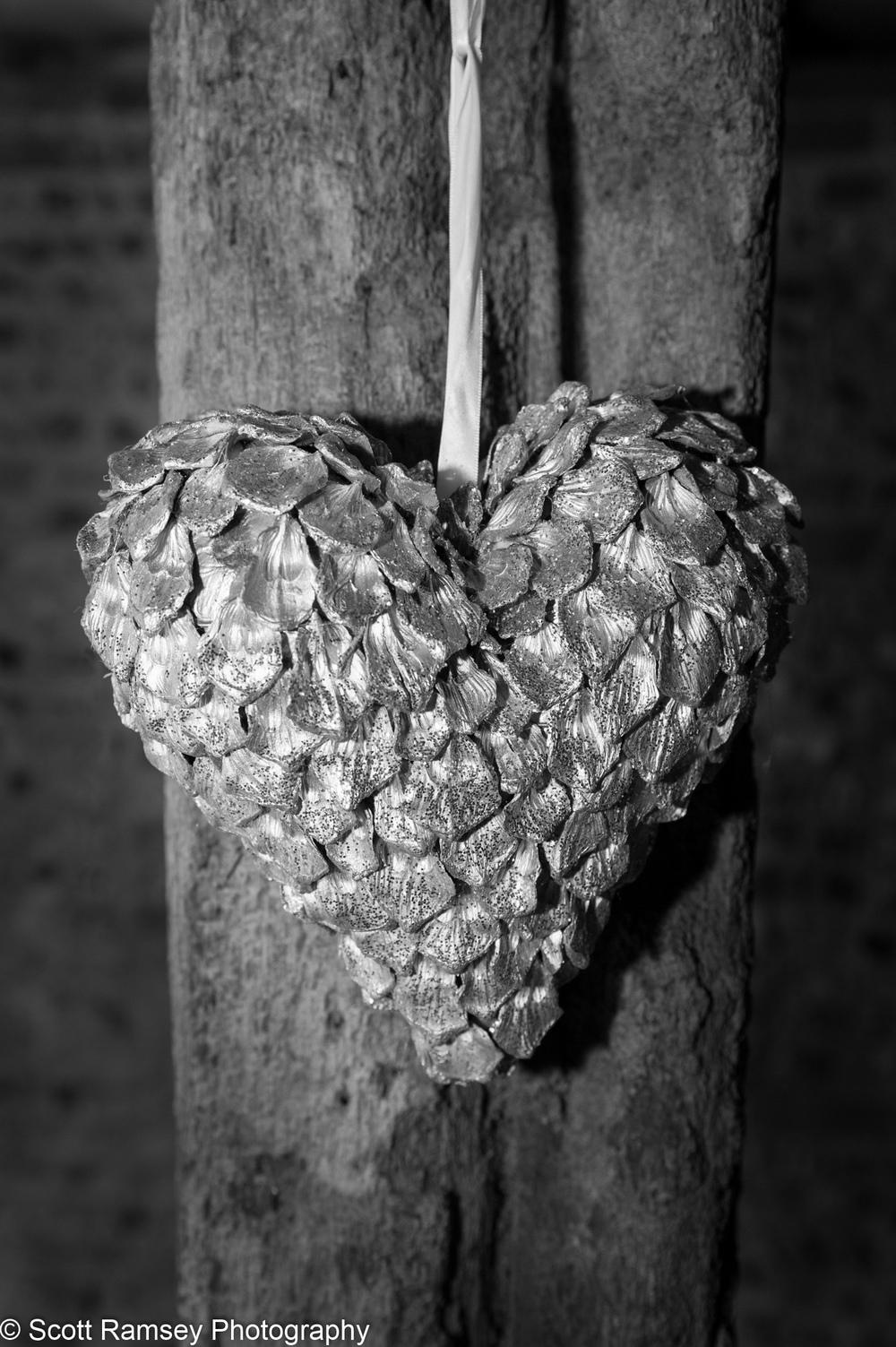 Upwaltham Barns Wedding Heart 15121248