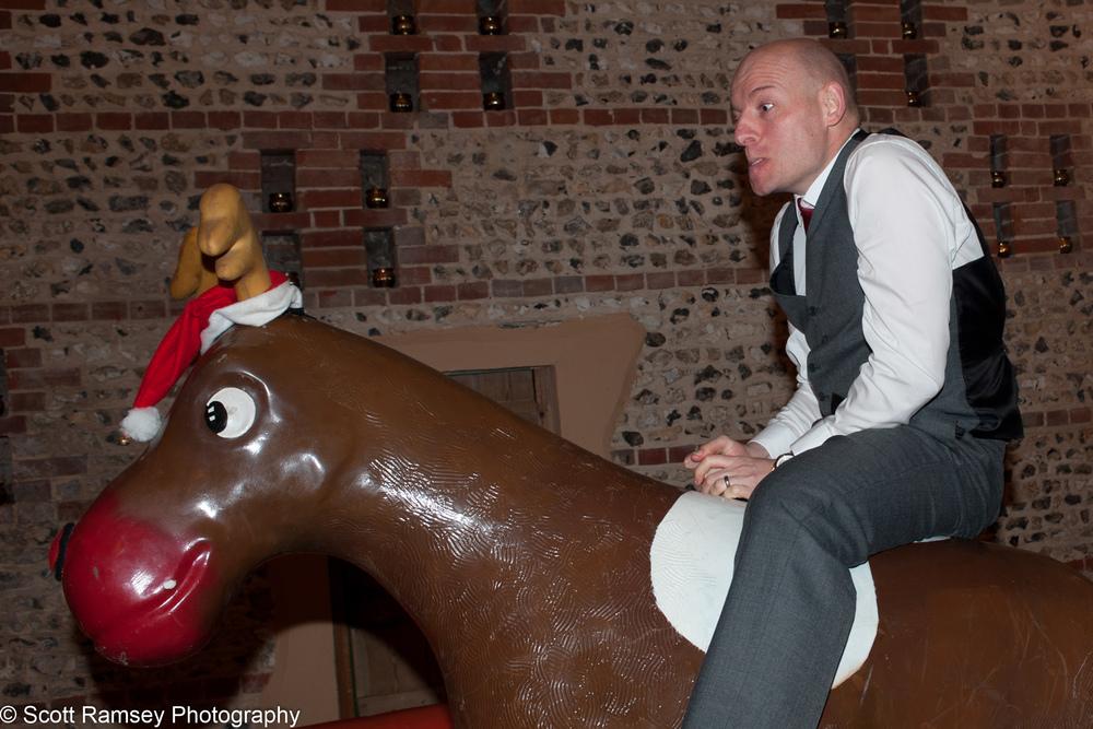 Upwaltham Barns Wedding Bucking Bronco Guest 15121262