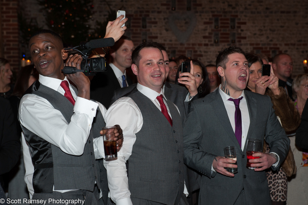 Upwaltham Barns Wedding Groom And Guests 15121267