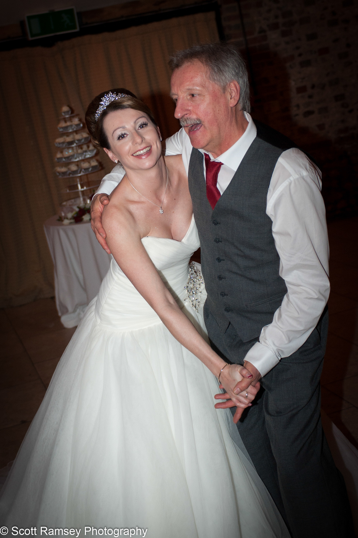 Upwaltham Barns Wedding Bride Dad Dance 15121270