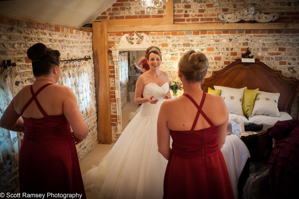 Bride Wedding Upwaltham Barns 15121205