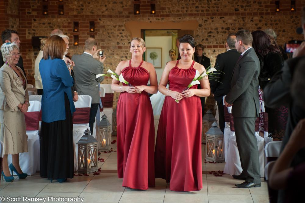 Upwaltham Barns Wedding Bridesmaids 15121209