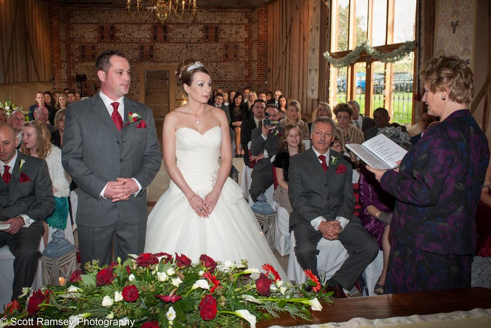 Upwaltham Barns Wedding Ceremony 15121214
