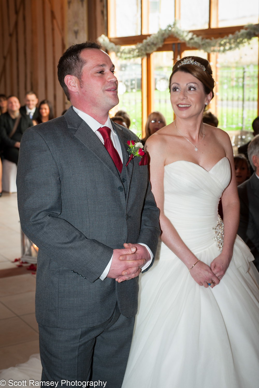 Upwaltham Barns Wedding Groom And Bride 15121215