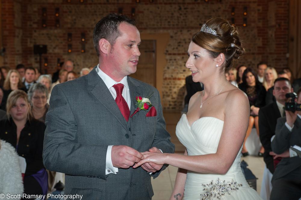 Upwaltham Barns Wedding Vows 15121218
