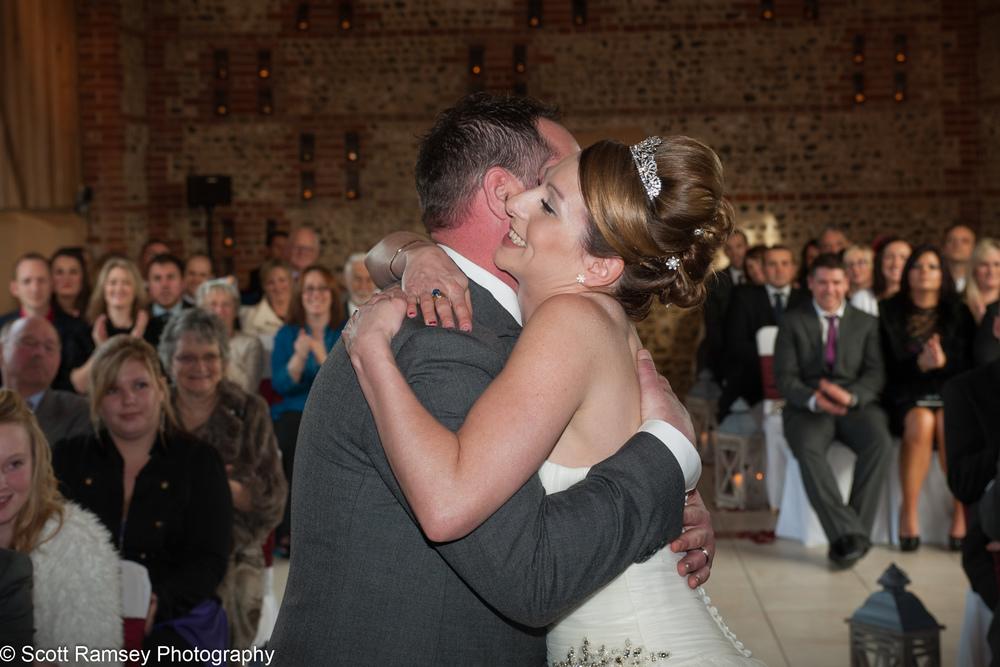 Upwaltham Barns Wedding Hug 15121221