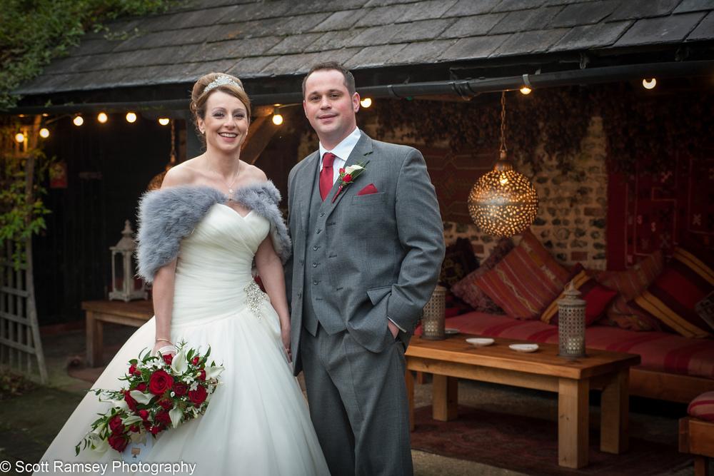 Upwaltham Barns Wedding Couple 15121228