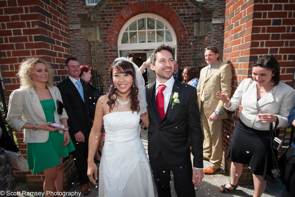 Portsmouth Registry Office Wedding Couple Married 040513-36
