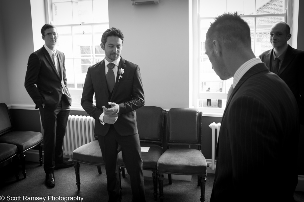 Portsmouth Registry Office Wedding Groom 040513-02