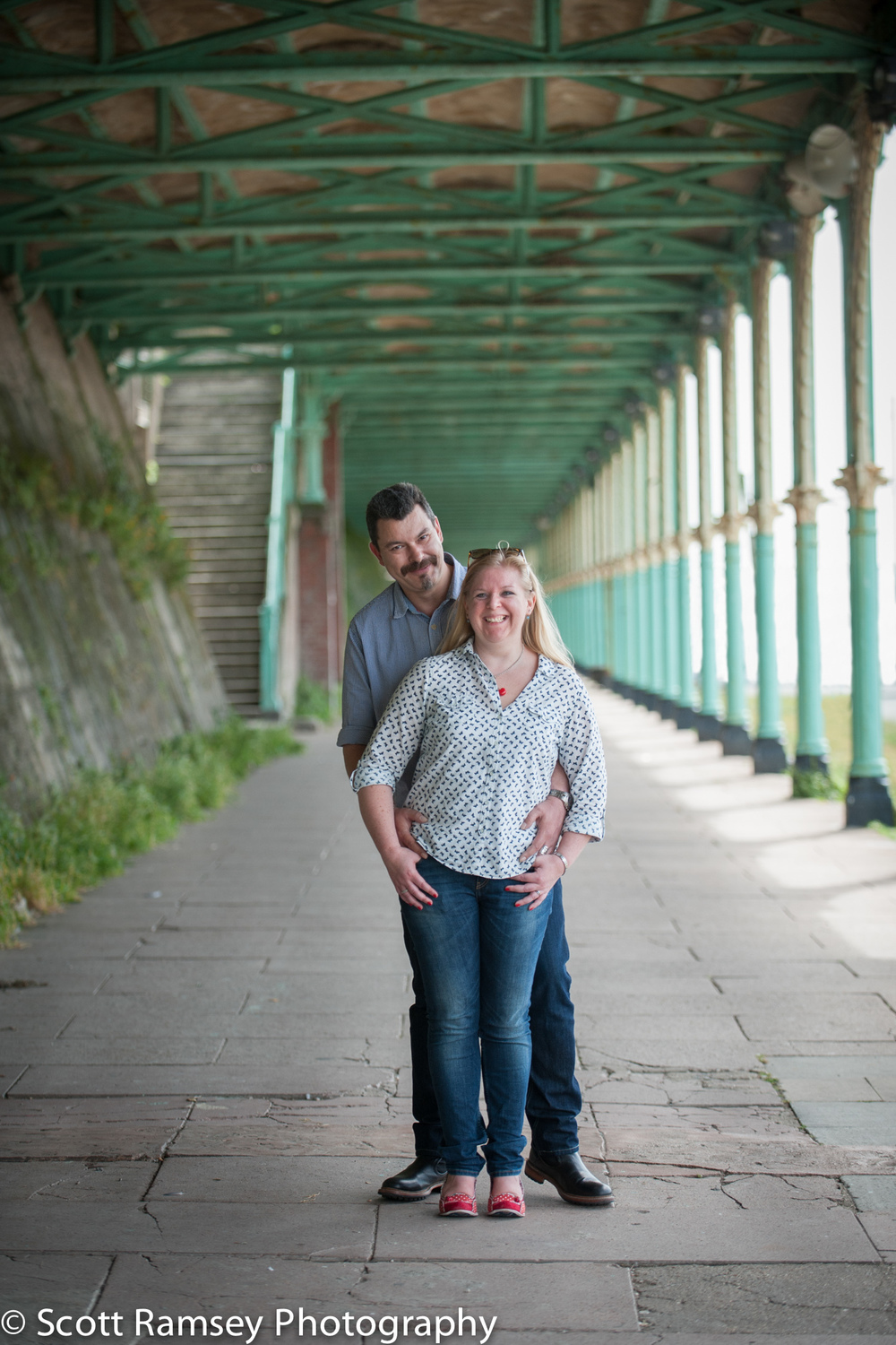 Engagement Photography Brighton Arches