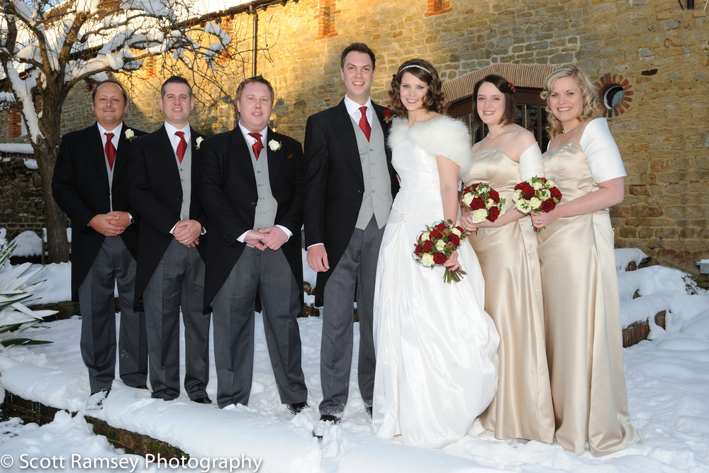 Winter-Wedding-Spread-Eagle-Hotel-Midhurst-Bride-Groom-Ushers-Br