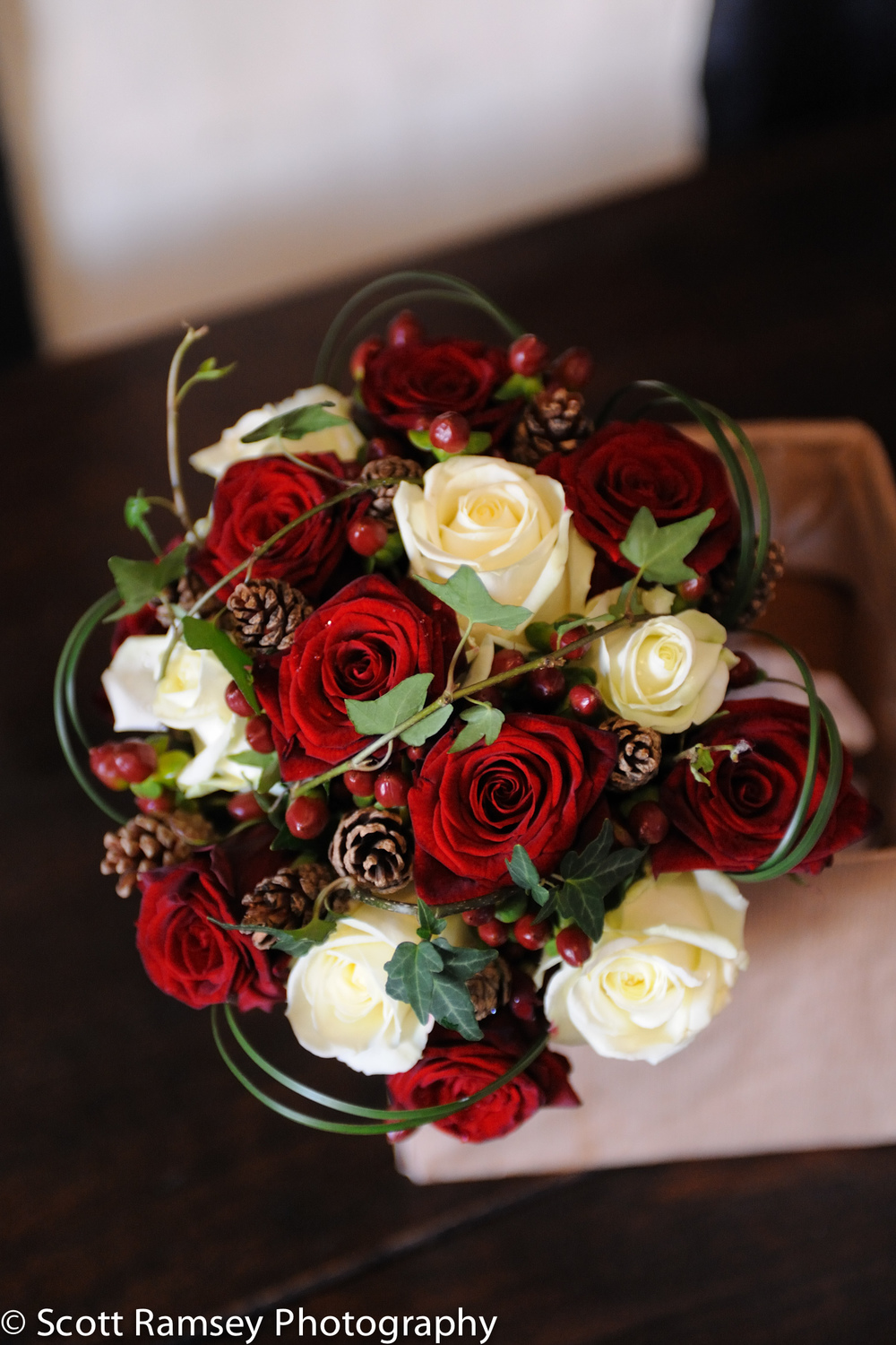 Winter-Wedding-Spread-Eagle-Hotel-Midhurst-Brides-Flower-Bouquet