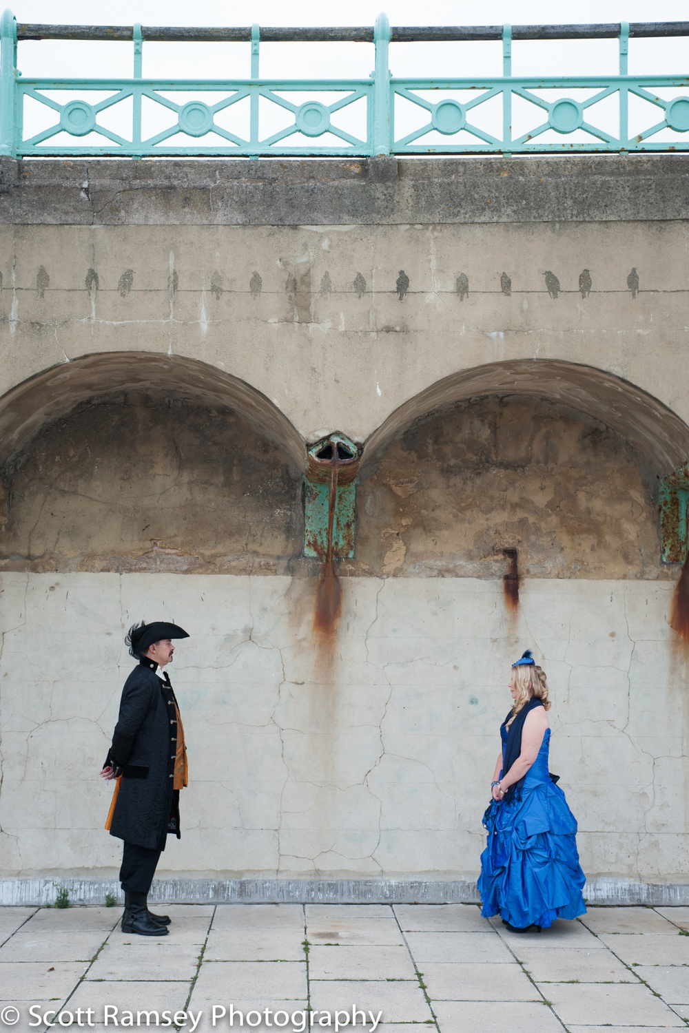 Brighton-Wedding-Photography-Pirate-Theme-Groom-Bride-Arches-140