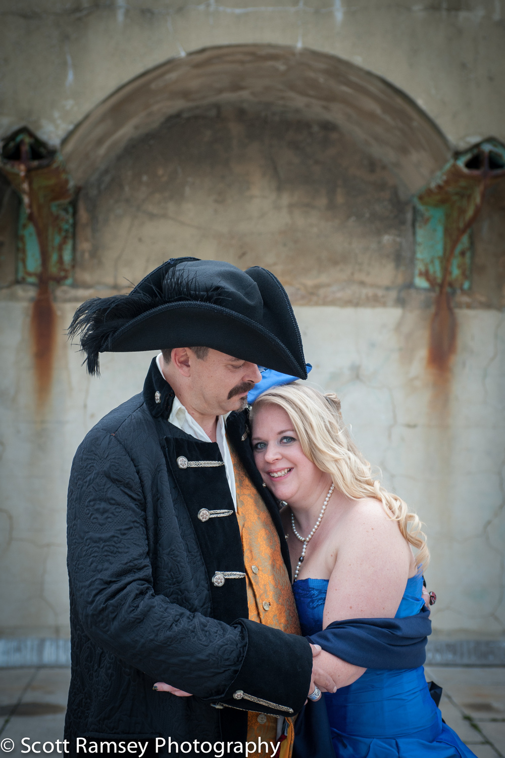Brighton-Wedding-Photography-Pirate-Theme-Romantic-Bride-Groom-1