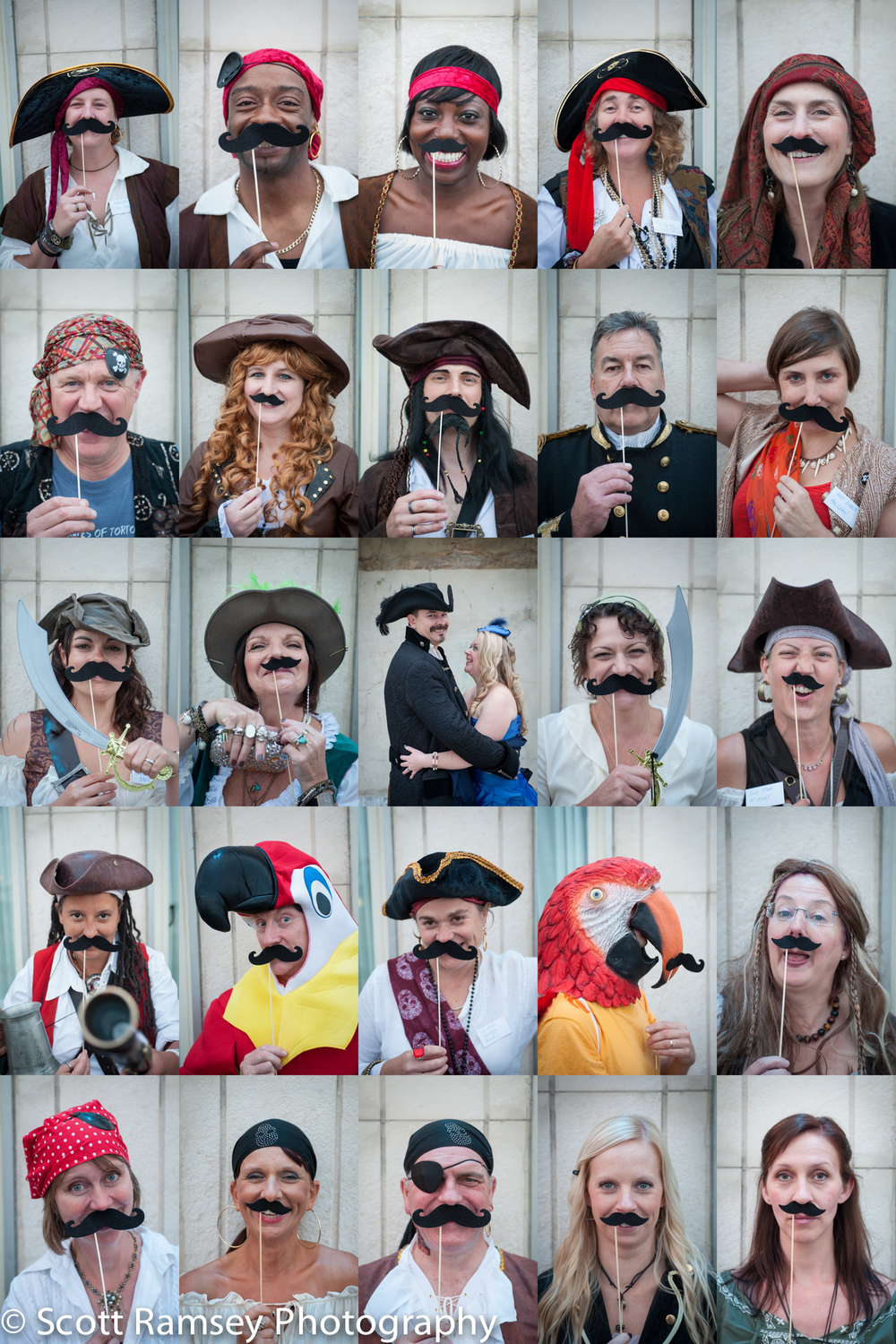 Brighton-Wedding-Photography-Pirate-Theme-Fun-Guest-Moustache-Mo