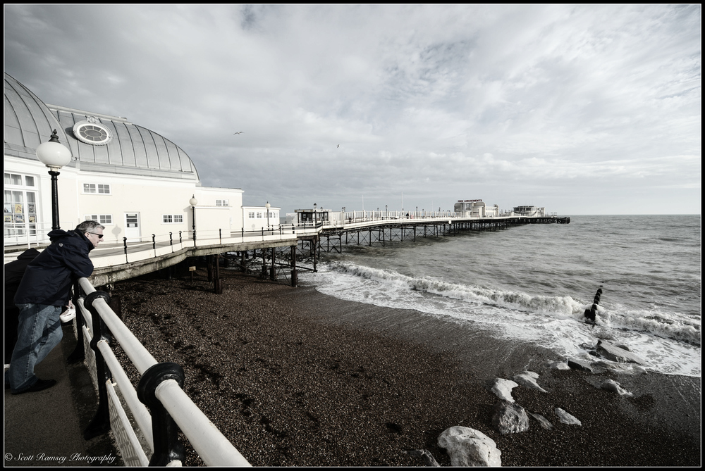 Worthing Pier in West Sussex. I not only wanted to photograph Worthing Pier I also wanted capture the sounds that make the pier special. © Scott Ramsey Photography