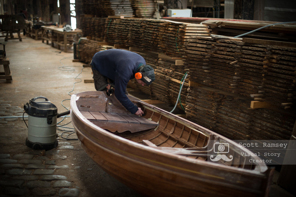 Stirling & Son Traditional Boat Builders Plymouth England 50