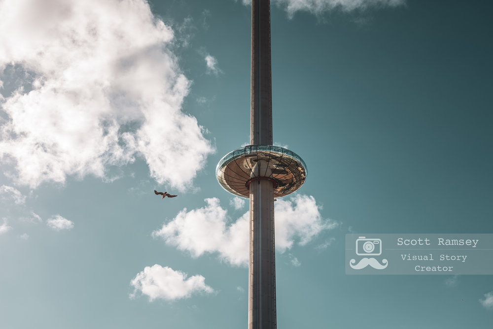 Flying High Brighton's i360