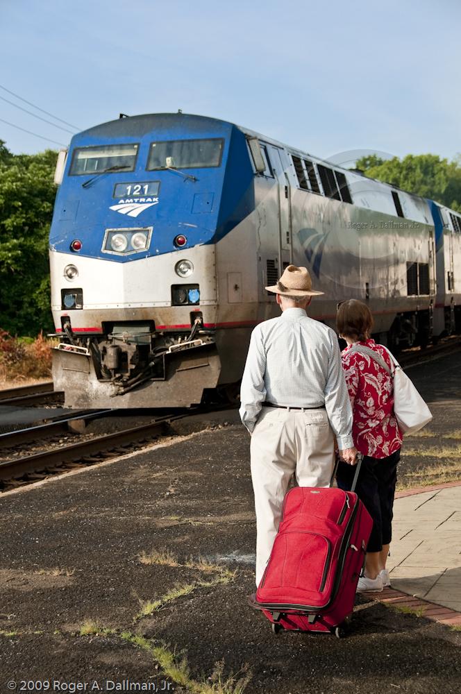 Inbound Train, Outbound Daughter