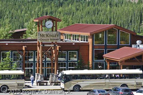 Mt. McKinley Alaska Denali hotel chalet