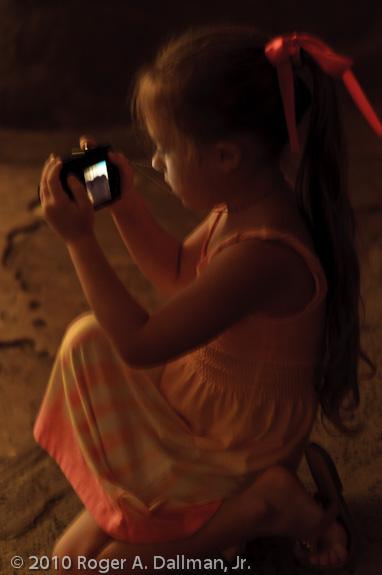 Luray Caverns, LCD glow, dark