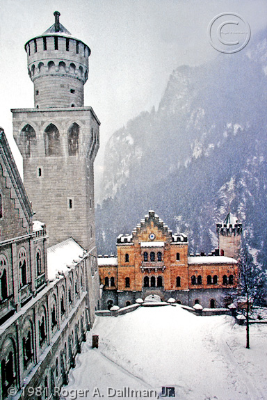 New Schwanstein, Germany, castle