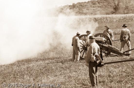 confederate, gettysburg, battlefield, artillery, gunner, sepia