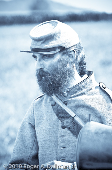 confederate, gettysburg, battlefield, artillery, gunner, selenium toning