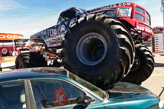 monster truck, NASCAR