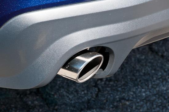 Mustang 5.0, tail pipe