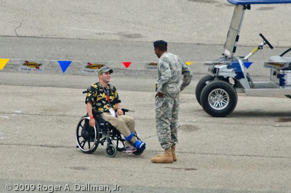 wounded vet, nascar, richmond raceway, veteran
