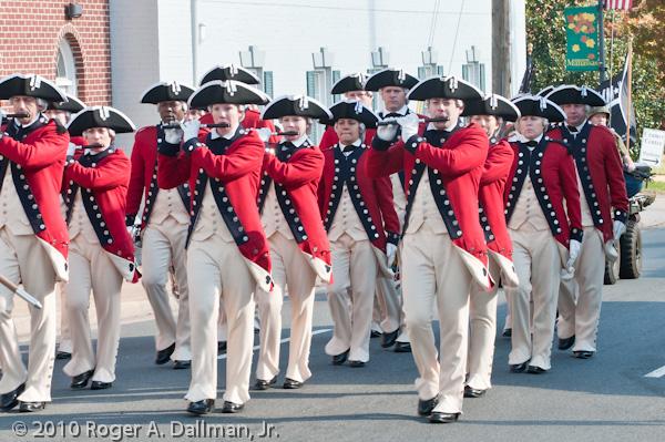manassas, veterans day parade, fife and drum